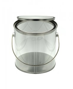 PET bucket for food