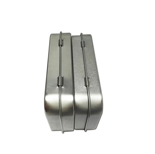 rectangular metal tins