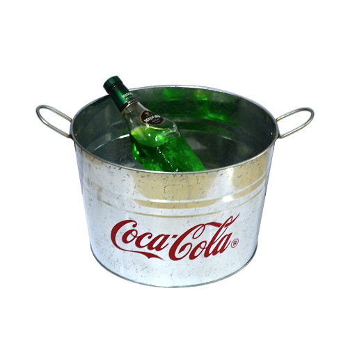 colored metal buckets wholesale