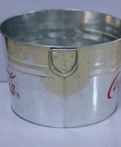 tin bucket for drinks