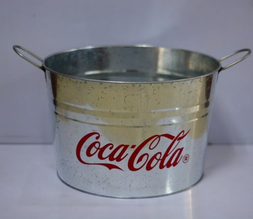 large metal buckets for sale