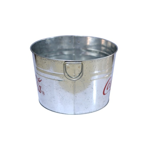 tin buckets for sale - colored metal buckets wholesale