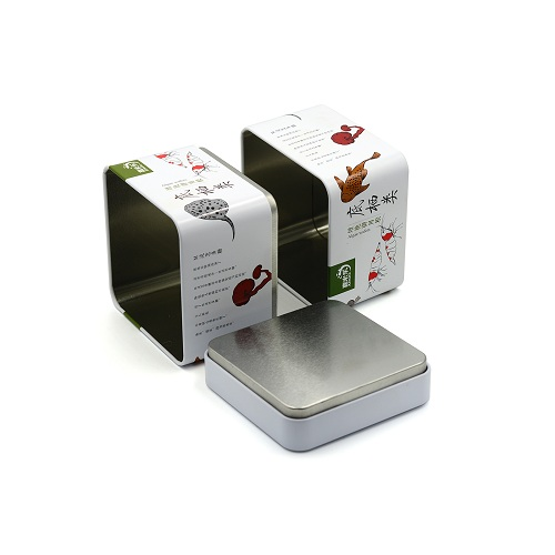 tin can coffee - white square gift boxes with lids