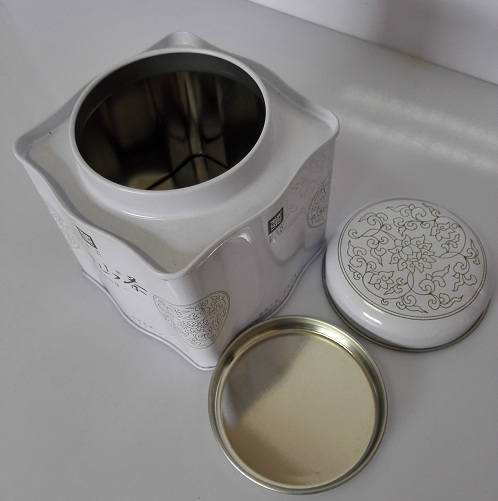 tin can gift containers - tin tea containers wholesale