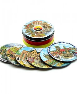 tin coaster set
