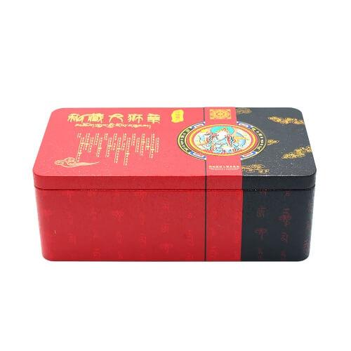 tin tea box 2 - large tea tin