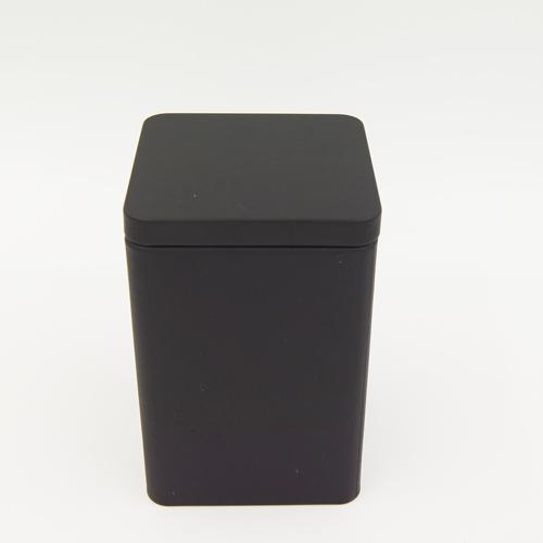 black square tin box2 - black square tin box