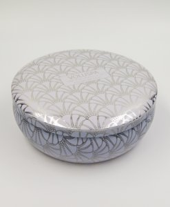 cosmetic box round tin