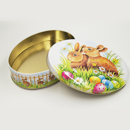 oval tin box - oval tin box
