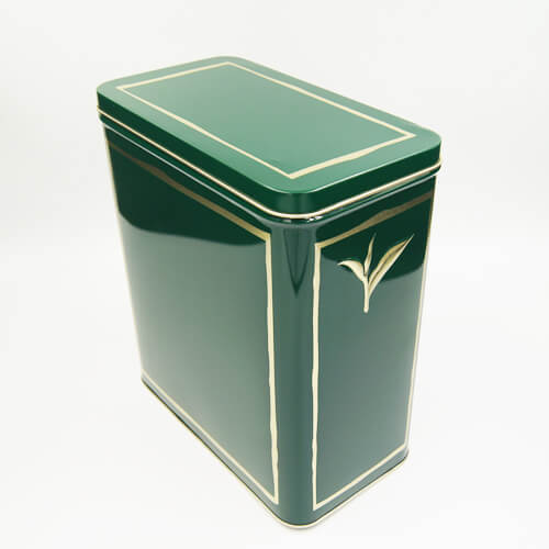 rectangle tea tin box1 - tea storage tins wholesale