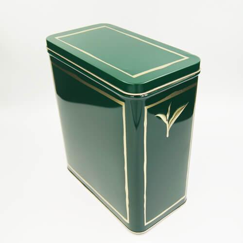 rectangle tea tin box2 - tea storage tins wholesale