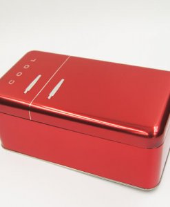 red cool tin box