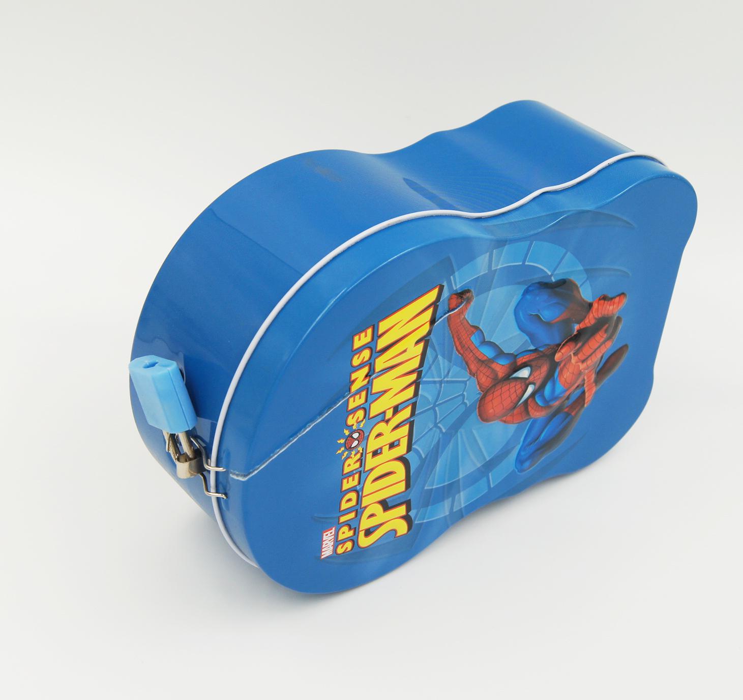 spider man handle box1 - Spider man lock box