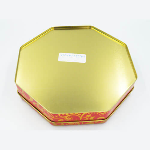 Octagon chocolate tins packaging - Octagon chocolate tins packaging