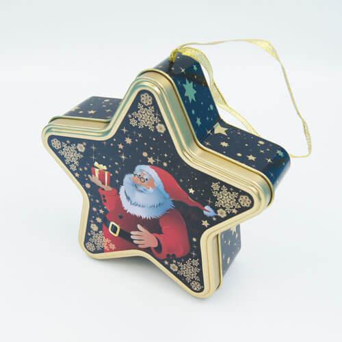 Star shape chocolate tin boxes2 - metal gift box