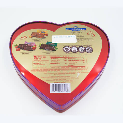 heart shape chocolate tin box 14 - heart shape chocolate tin box