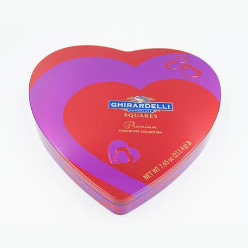 heart shape chocolate tin box 19 - heart shape chocolate tin box