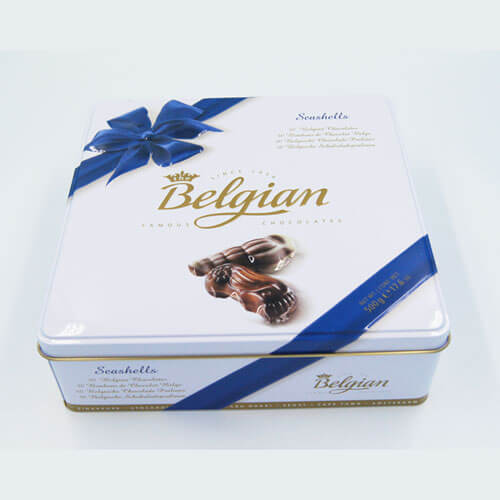 square chocolate tin packaging4 - Square chocolate tin packaging