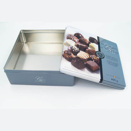 square chocolate tin packaging6 - Square chocolate tin packaging