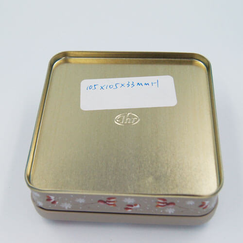 square small chocolate tin packaging - square small chocolate tin packaging