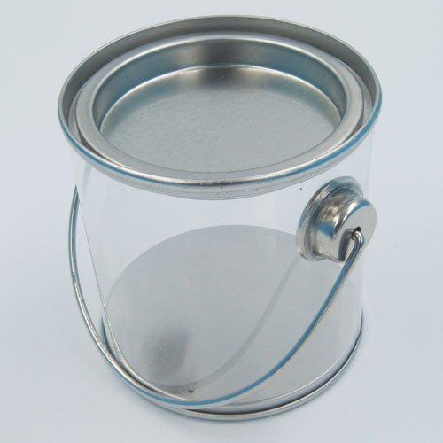 PET bucket 11 - Coins, Money Tin Can Boxes