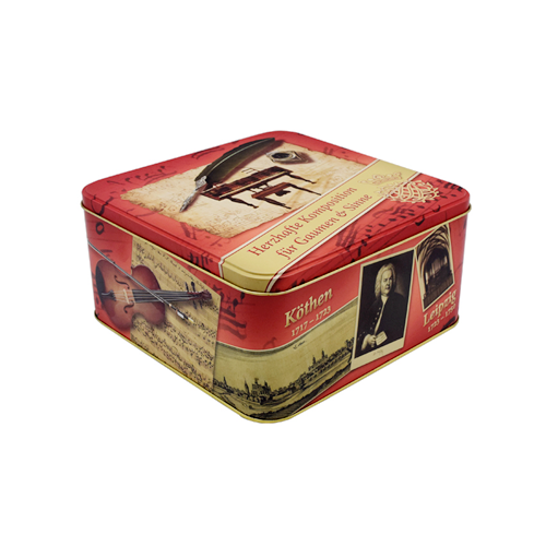 I-TW428 1 001 - Amabhokisi we-Square Tin