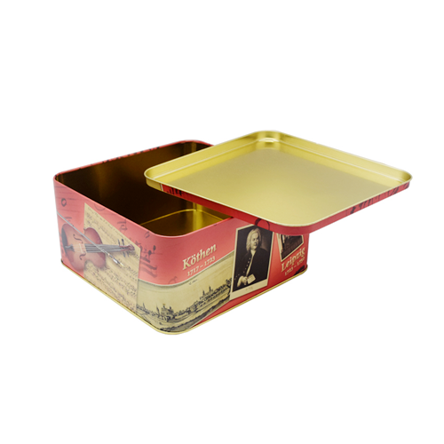 TW428 1 003 - Square Metal Storage Bins For Gifts Or Food Packaging Ideas