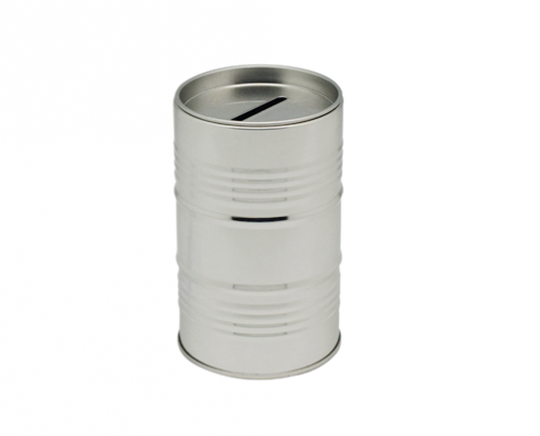 Round Best Coin Tins Box Bank