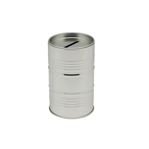 TW649 2 001 - Coins, Money Tin Can Boxes