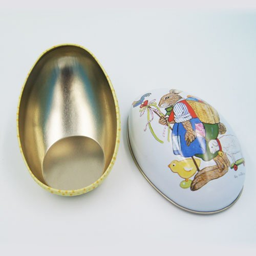 big egg tin box - Food Packaging Tins