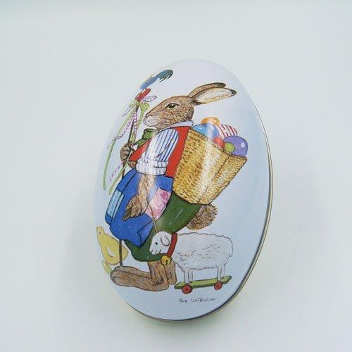 big egg tin box2 - Custom Egg Metal Chocolate Box For Chocolate Candy Packaging