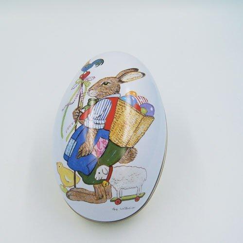 big egg tin box3 - Custom Egg Metal Chocolate Box For Chocolate Candy Packaging