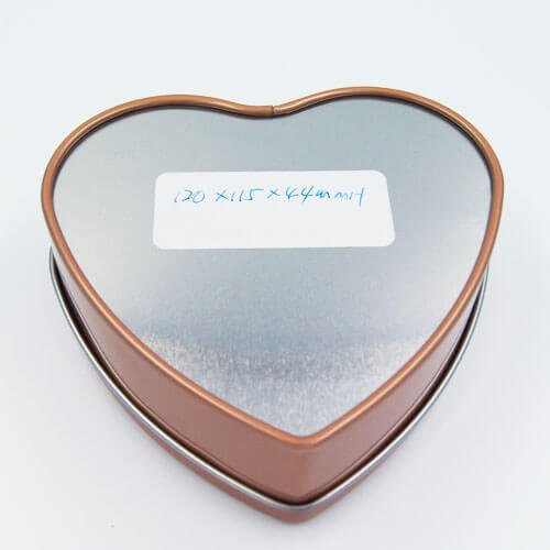 heart shape chocolate tin box 10 - Metal Heart Shaped Tin Can For Valentine Chocolate Packaging
