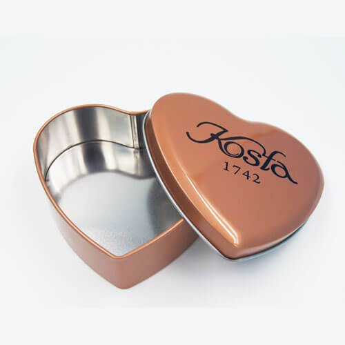 heart shape chocolate tin box 11 - Food Packaging Tins