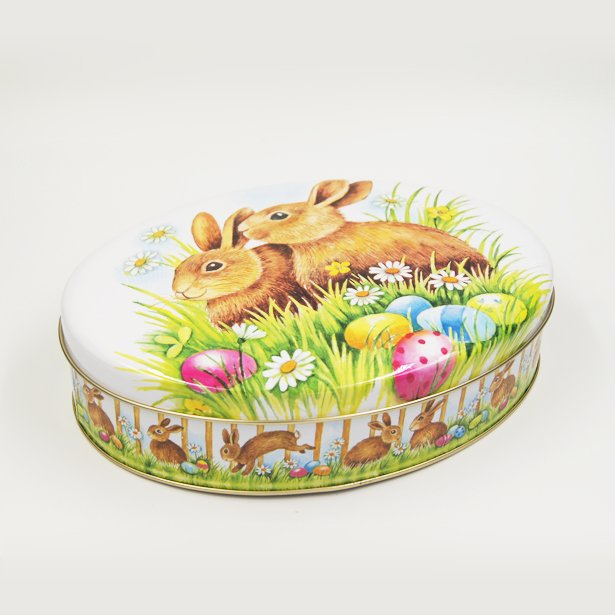 oval tin box1 - Oval Metal Tin Food Containers For Cookies Packaging Ideas