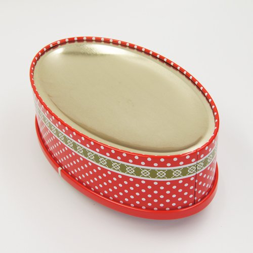 oval tin box2 - Small Round Candy in Tin Containers For Biscuits Packaging