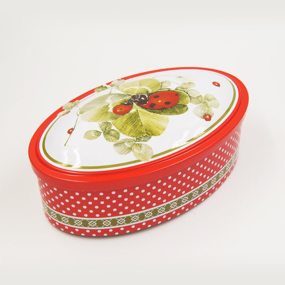 oval tin box4 - Small Round Candy in Tin Containers For Biscuits Packaging