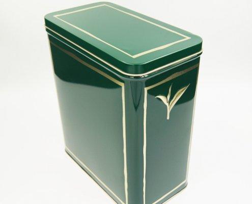 Персонализирани метални разхлабени листови контейнери за чай за опаковане на чай
