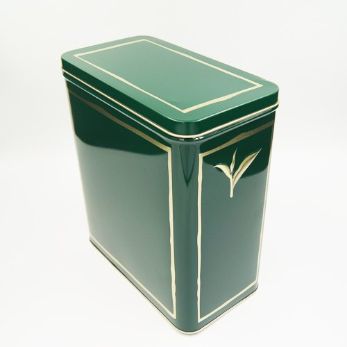 rectangle tea tin box1 - Rectangular Tin Box