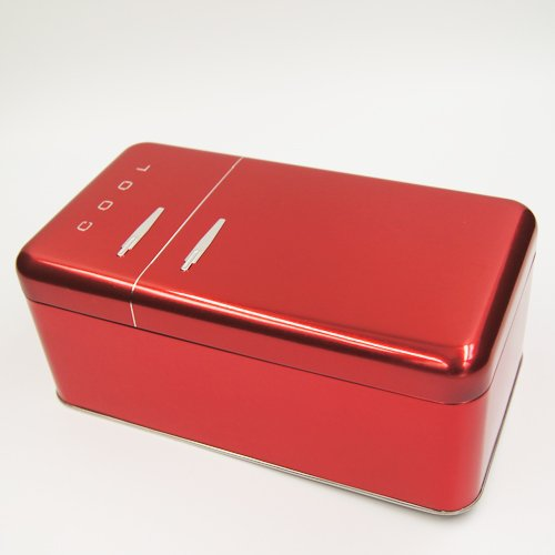 red cool tin box3 - Hot Tin Box Products