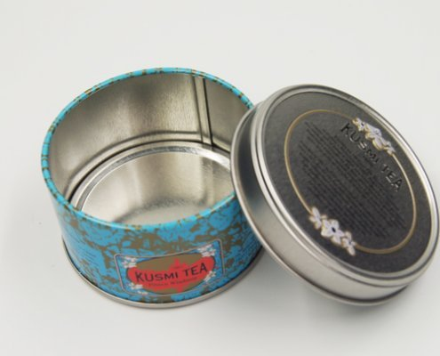 Round Metal Candle Containers For Candle Packaging Ideas