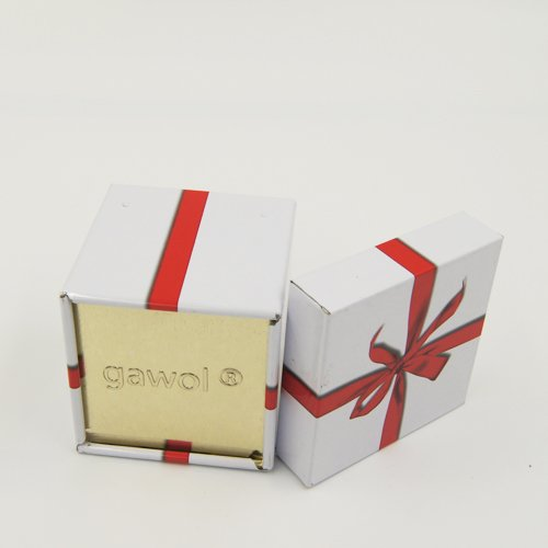 small square gift box - Small Square Metal Tin Containers With Lid For Gift Packaging