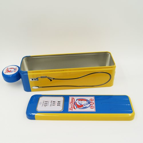 special rectangle tin box 1 - Metal Pencil Case Tin With Lid for Stationery Packaging