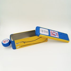 special rectangle tin box 300x300 - Metal Pencil Case Tin With Lid for Stationery Packaging