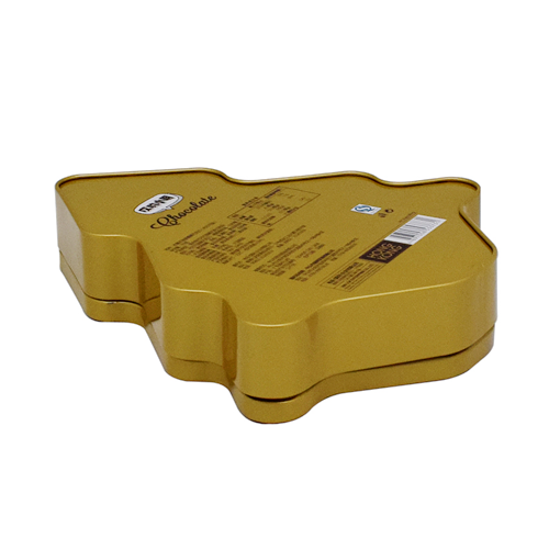 tw02 - Custom Metal Christmas Tin Containers For Chocolate Packaging