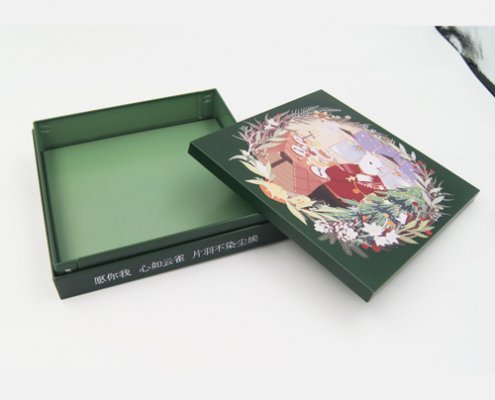 Right Angle Square Tin Packaging for Small Gift Packaging