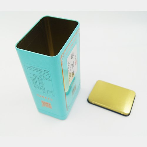 DSC05612 - Rectangular Metal Tea Containers for Loose Tea Storage