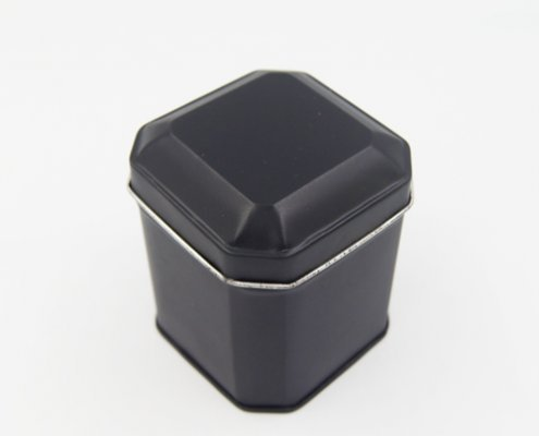 Octagon Tin Box For Packaging Small Gifts