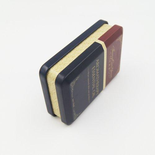 DSC05668 - Малка правоъгълна кутия от метален шоколадов калай за опаковане