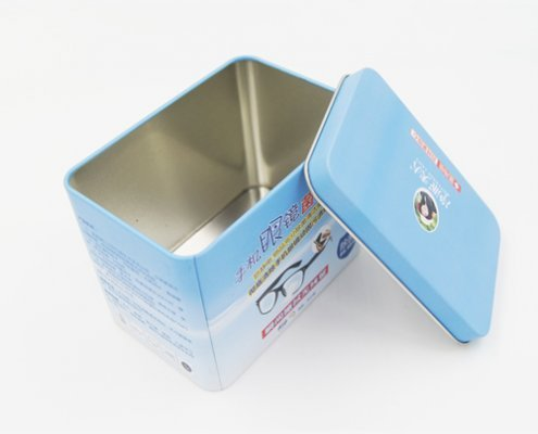 Square Small Metal Gift Boxes with Lid for Packaging Ideas